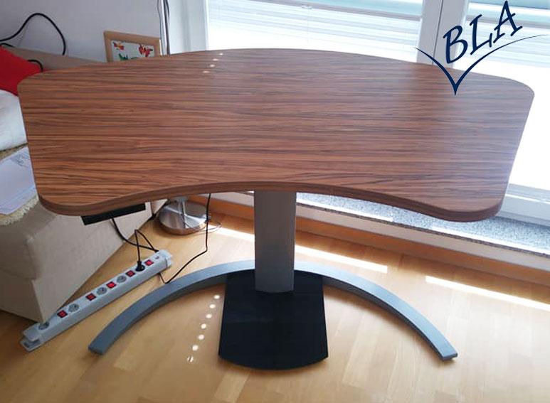 bla b ro liebt ausstattung b roeinrichtung b rotische elektro single conset schreibtisch. Black Bedroom Furniture Sets. Home Design Ideas