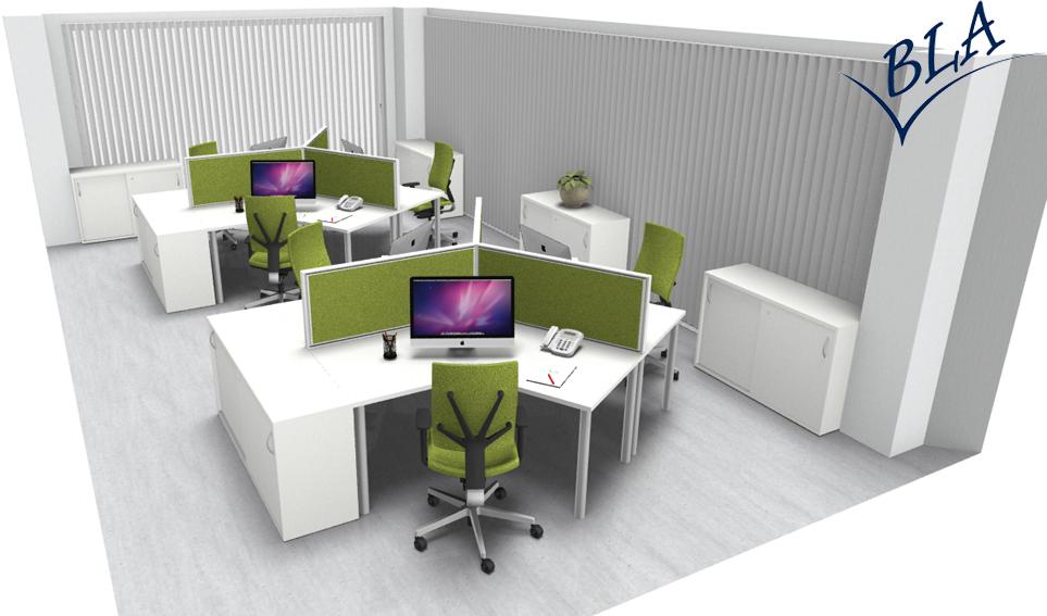 Bla Büro Liebt Ausstattung Büroeinrichtung Gruppen Arbeitsplatz