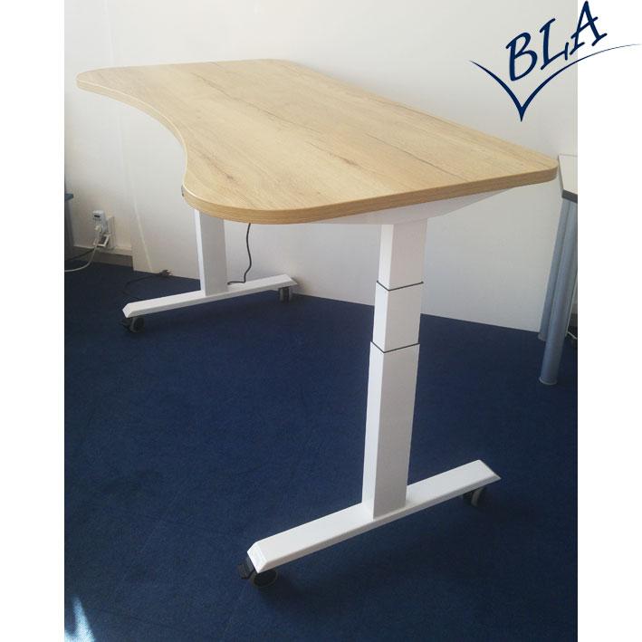 bla b ro liebt ausstattung b roeinrichtung b rotische elektrisch h henverstellbar. Black Bedroom Furniture Sets. Home Design Ideas
