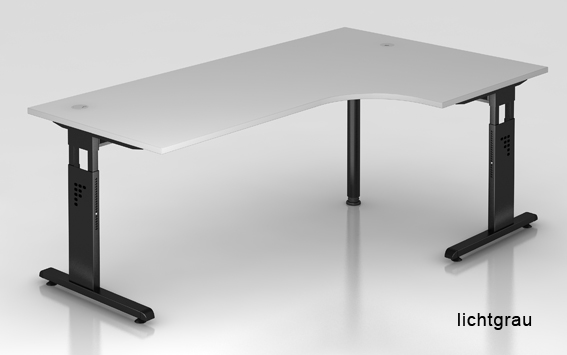 bla b ro liebt ausstattung b roeinrichtung b rotische hammerbacher o serie l schreibtisch. Black Bedroom Furniture Sets. Home Design Ideas
