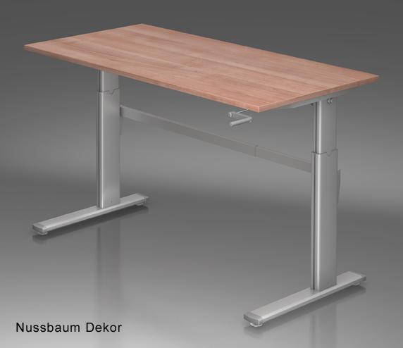 bla b ro liebt ausstattung b roeinrichtung schreibtische hammerbacher maxi kurbel. Black Bedroom Furniture Sets. Home Design Ideas